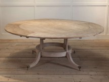 F245 - Bleached mahogany dining table